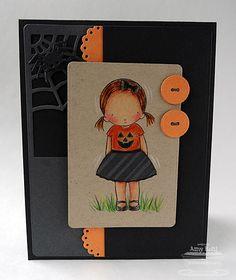 PI Pretty Pumpkin PI Pretty Pumpkin, Plaid Builder Background Paper: Black Licorice, Kraft, Steel Gray, Orange Fizz Ink: Memento Tuxedo Black, Steel Blue (skirt stripes) Accessories: Die-namics Blueprints 6, Paper Bag Peek -a-Boos; colored pencils   Read more: http://www.splitcoaststampers.com/gallery/photo/2404218#ixzz2bZV4PbJO
