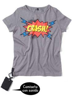 Camiseta CON SONIDO Crash!