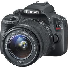 Cannon EOS Rebel SL1... My Birthday Gift!!! Got to figure out how to use it!