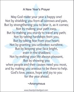 Heartprints of God: A New Year's Prayer for You~<3
