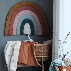 """Fabelab on Instagram: """"Our new Rainbow Blanket is the perfect combination of our love for colours, shapes, poetic storytelling and the most beautiful handicrafts…"""""""