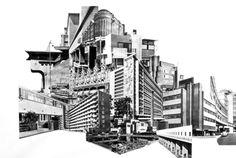 Barbara Visser - Collage, 2003