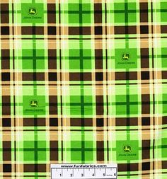John Deere Plaid Flannel