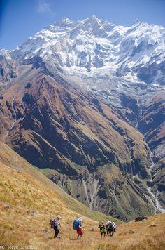Mt. Annapurna Himalaja Nepal
