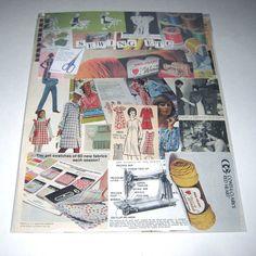 Sewing Ephemera Pack 65 Pieces of Vintage Ephemera for Altered Art on Etsy, $11.95