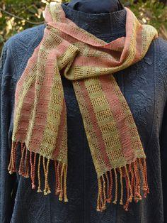 Leno cotton scarf