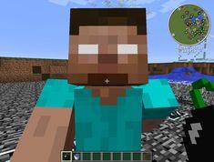 Minecraft - Herobrine's Face by ZephiraShadowclaw.deviantart.com on @deviantART