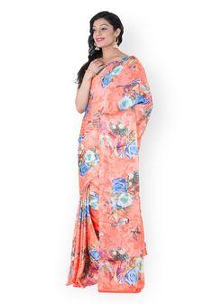 Peach Saree, High Neck Dress, Dresses, Fashion, Turtleneck Dress, Vestidos, Moda, Fashion Styles, Dress