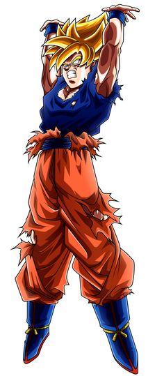 Son Goku Super Saiyan #3 by NekoAR on DeviantArt