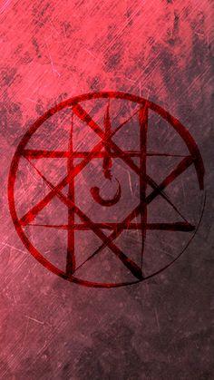 Fullmetal Alchemist Themed Background - Blood Seal