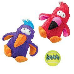 Kong Squeak Dog Toys Variety Pack: (2) Kong Dodo Birds, M... https://www.amazon.com/dp/B01N9P04I4/ref=cm_sw_r_pi_dp_x_dExWyb2000KDX