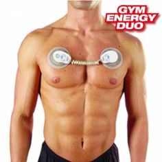ELECTROESTIMULADOR GYM ENERGY DUO