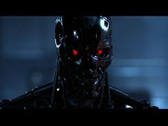 I want use this reference to the band being robots like the terminator