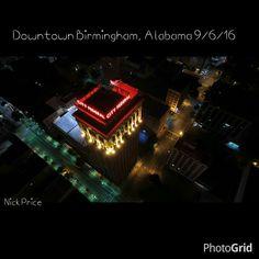 Nick Price's view 2 of Downtown Birmingham, Alabama 9/6/16.