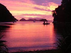 GREAT SUNSET - Orama, Great Barrier Island