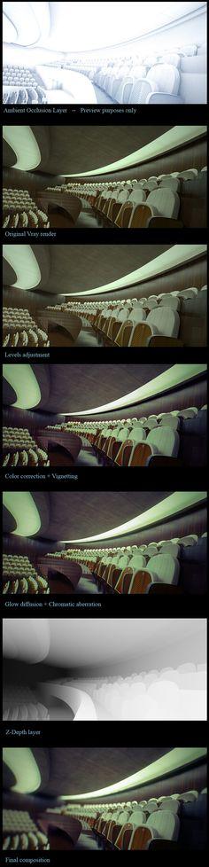 Area :: Tutorial :: Making of the Auditorium by Alex Roman