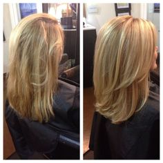 Awesome Avant Apres : Before/after: Base Color/dimensional Weave/haircut