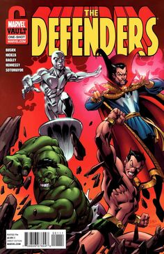 Defenders: From the Marvel Vault by Mark Bagley & Andrew Hennessy