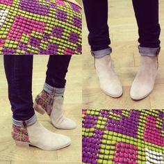 Boots ethniques