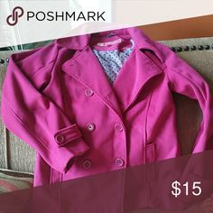 Girls dress peacoat Dollhouse bright pink peaciat Dollhouse Jackets & Coats Pea Coats