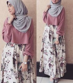 fashion hijab Skirt Boho Outfit Fashion 61 Ideas For 2019 Modern Hijab Fashion, Islamic Fashion, Abaya Fashion, Muslim Fashion, Skirt Fashion, Fashion Dresses, Abaya Mode, Hijab Stile, Hijab Fashionista
