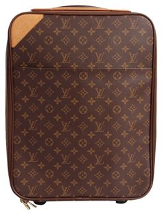 916d97e0a87a Louis Vuitton 45 Rolling Luggage With Padlock And Luggage Tag. Brown Travel  Bag. Save