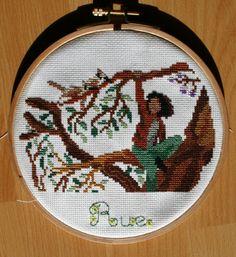 Hunger Games Cross Stitch-Rue