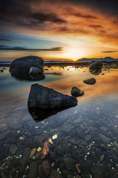 Rocky Sunset by Carlos Rojas on 500px  )