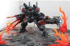 GUNDAM GUY: MG 1/100 Jesta Full Weapon - Diorama Build