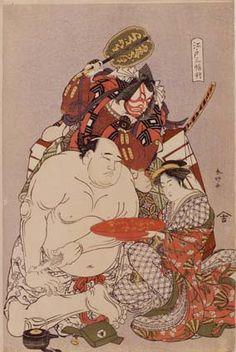 Ukiyo-e KatsukawaShunko