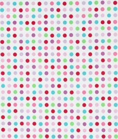 Springs Creative Dilly Dally Nursery Candy Dots Fabric - $5.9 | onlinefabricstore.net