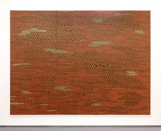 UNTITLED 2015 Paper, acrylic and varnish on wood  204 x 278 cm