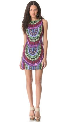 Mara Hoffman Open Back Mini Dress - gorgeous! love the print
