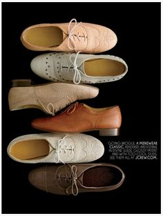vintage oxford shoes