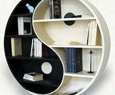 Shelves from a furniture collection with range of models by Eric Guiomar.