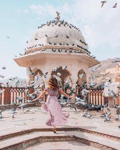 Jaipur, Rajasthan with Catherine Livieratos, and Style Boho, Look Boho, Jaipur Travel, India Travel, Girl Photography, Travel Photography, Freedom Is A State Of Mind, Travel Pose, Indian Photoshoot
