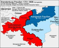 Prussia's expansion in the 18th & 19th c. was one of the big stories in European history, upsetting the previous balance of power & ultimately leading to German reunification under Prussian leadership but excluding Austria, with profound consequences for Germany, France, Poland & European Jewry (1871)