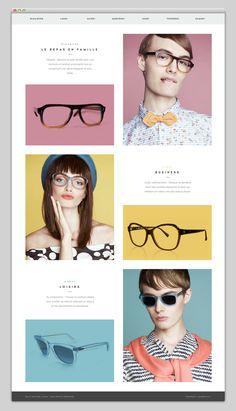 Antoine Laoun Website - box layout | pastels | css animation | sleek typeface…