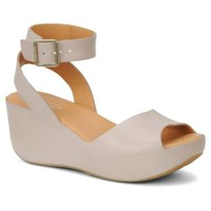 A pretty peep-toe I can wear. (In black and rust too.) Amazon.com: Kork-Ease Women's Carolyne: Shoes