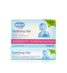 Temporarily relieves symptoms of pain, simple restlessness and wakeful irritability due to cutting teeth. Helps reduce redness and teething discomfort*