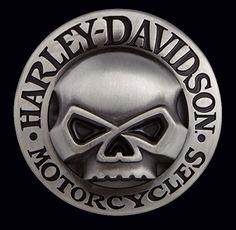 Harley Davidson sayings logo   Harley Davidson Willie Skull Belt Buckle New Ebay
