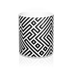 Maze Illusion Mug