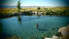 Big Water Spring is the largest geothermal hot spring in Nevada protected by the Duckwater Shoshone Tribe. The pristine water of about 91-93 degrees are a designated critical habitat of Railroad Valley Spring Fish. The hidden gem is open to the public
