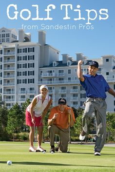 Golf Tips from the Sandestin Pros! Looking for your next Golf Getaway? Check out Sandestin Golf and Beach Resort in South Walton, FL!