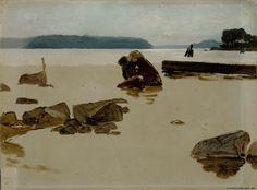 Albert Edelfelt - Open Sea off Haikko 1884