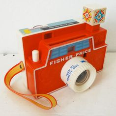 Fisher Price #112 vintage picture disc camera