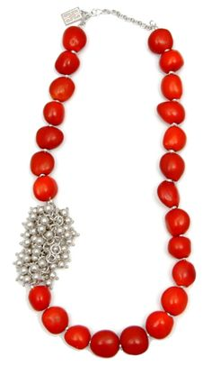 passion red necklace