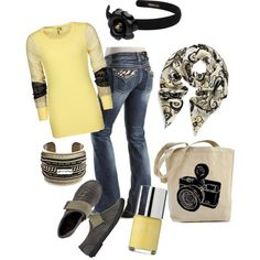 """Casual Fall Outfit"" by d2the4thpower on Polyvore"