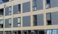 Zinc cladding on Brighton apartment block