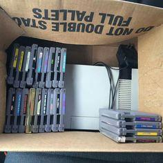 I love yard sales #NES